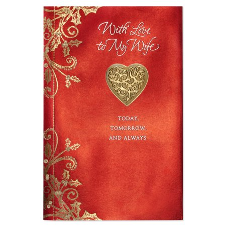 American greetings today tomorrow always christmas card for wife american greetings today tomorrow always christmas card for wife with glitter m4hsunfo