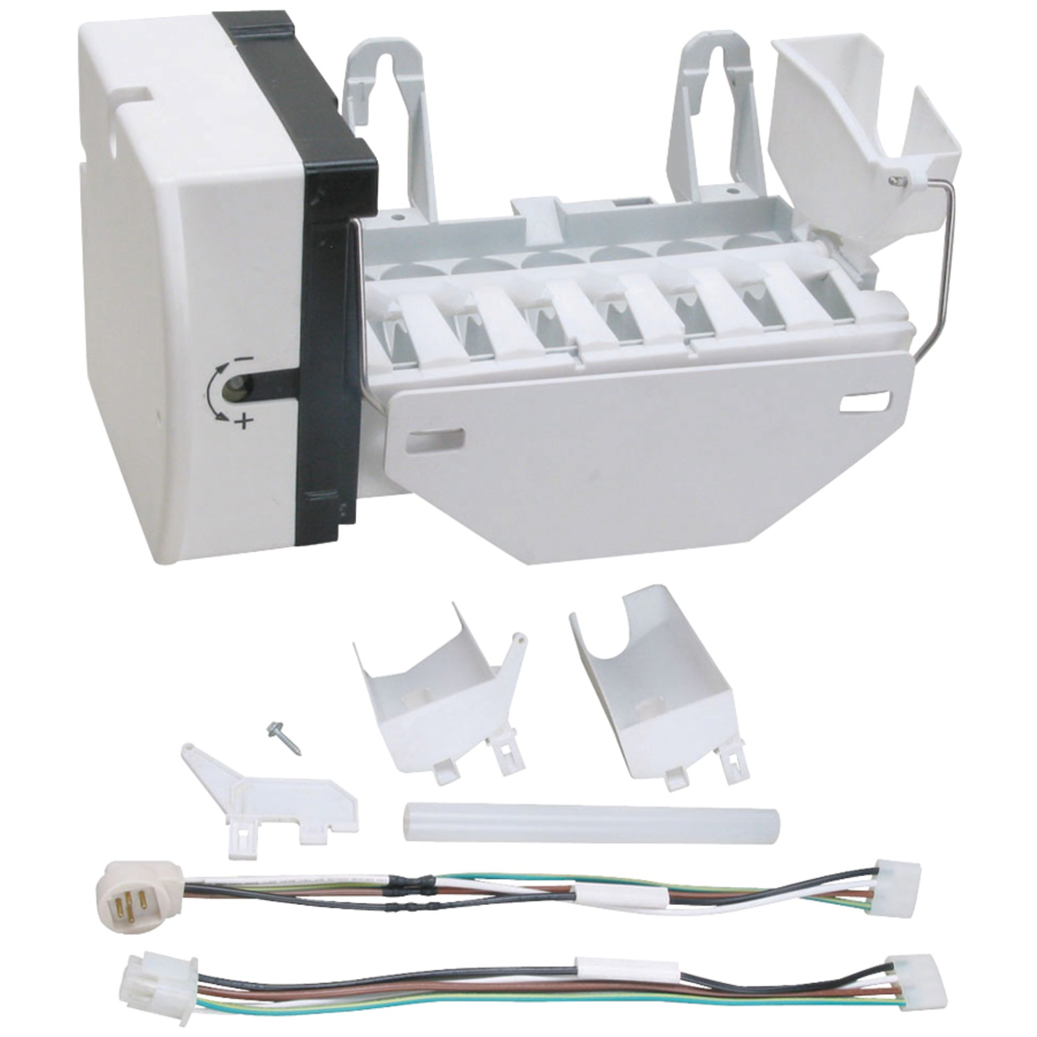 Exact Replacement Parts WR30X10093 Ice Maker with Harness for GE® WR30X10093
