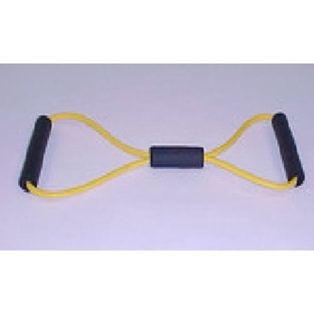 Stretch Resistance Figure 8 Exercise Tube Tube X-Light Yellow - Micro Fur Stretch Tube