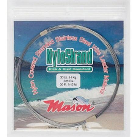 Mason Tackle Company NYLOSTRAND Leader Wire ()