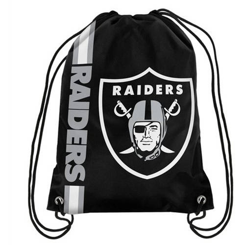NFL Oakland Raiders Drawstring Backpack
