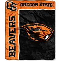 Oregon State Beavers 50x60 NCAA School Spirit Royal Plush Raschel Blanket Throw