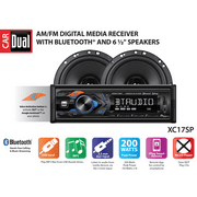Best Car Stereos - Dual Electronics XC17SP Single DIN Car Stereo Receiver Review