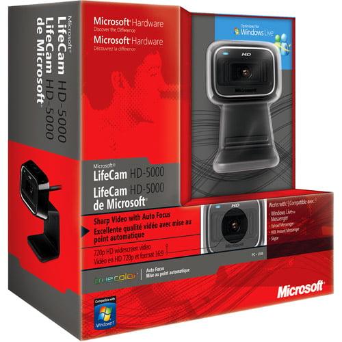 Microsoft LifeCam HD-5000 USB HD Webcam 7ND-00001