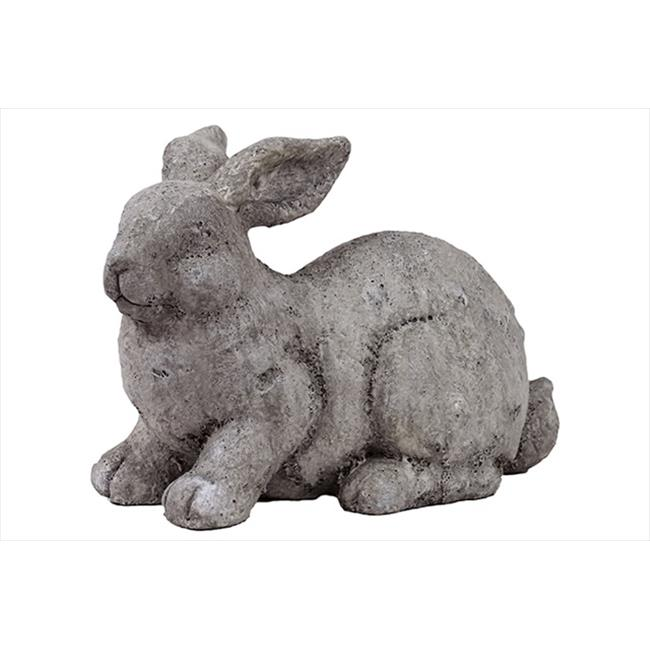 Urban Trend 40801 9.25 in. H Fiberstone Rabbit