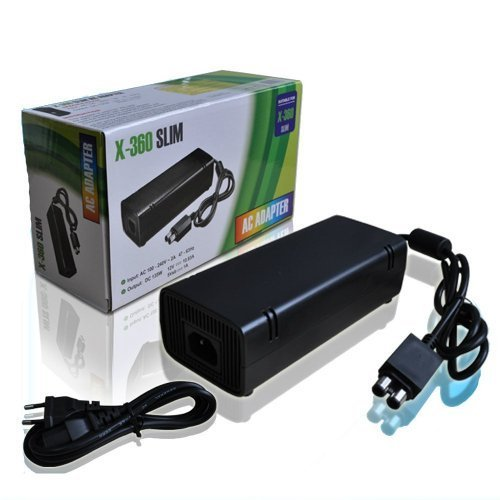 Microsoft Original XBOX 360 Slim AC Adapter Charger Power Supply