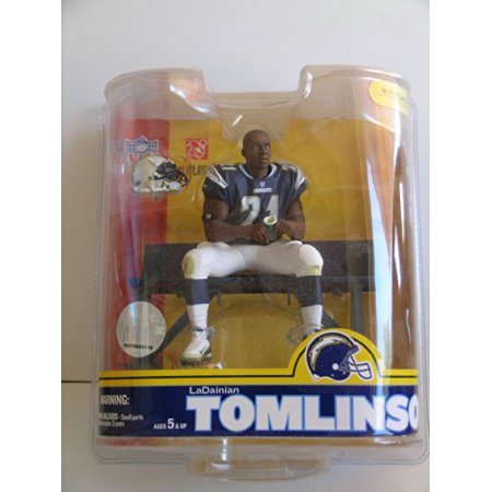 Lucky Yeh International, Ltd McFarlane NFL Series 16: LaDanian Tomlinson 4 - San Diego Chargers- Blue Jersey - image 1 of 1