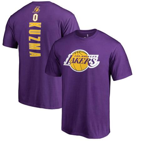 huge selection of 0f5a9 8109f Kyle Kuzma Los Angeles Lakers Fanatics Branded Team Backer Name & Number  T-Shirt - Purple