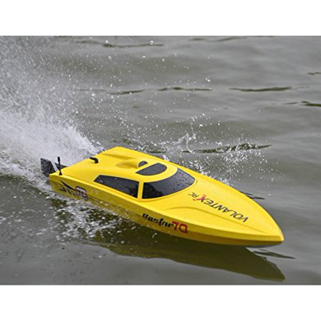 2.4Ghz Radio Control Control Vector 70 (cm) Super High Speed Race Boat ABS Unibody RC RTR w/ESC Brushless Motor (Color May Vary)
