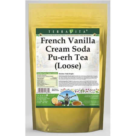 French Vanilla Creme (French Vanilla Cream Soda Pu-erh Tea (Loose) (4 oz, ZIN:)