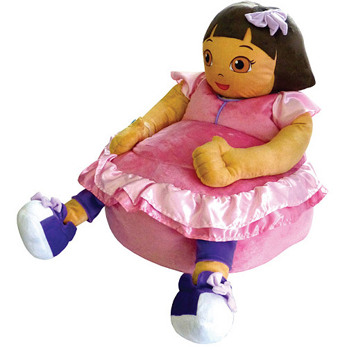Nickelodeon Dora the Explorer Figural Bean Bag Chair  sc 1 st  Walmart & Nickelodeon Dora the Explorer Figural Bean Bag Chair - Walmart.com