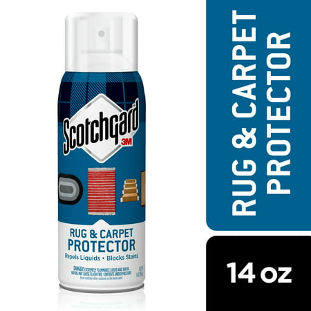 Scotchgard Rug & Carpet Protector and Stain Blocker Spray, 14 oz, 1 Can Upholstery Protector Spray