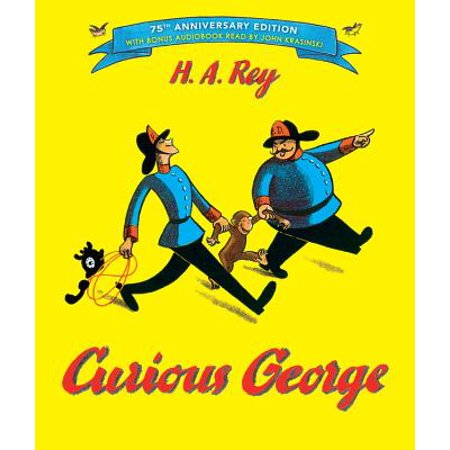 Curious George: 75th Anniversary Edition (Anniversary) (Hardcover) - Curious George Birthday Ideas
