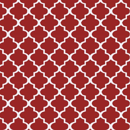 "Waverly Inspirations Cotton Duck 44"" Twist Poppy Fabric, per Yard"