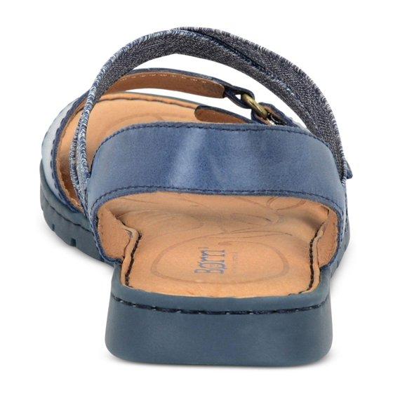 22a9df0ec96b Born - Born Womens Britton Leather Open Toe Casual Slide Sandals ...