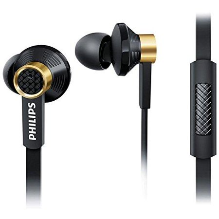 Philips Microphone Earphone - philips in-ear high precision sound headphone headset earphone + mic tx2 black