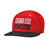 "Official WWE Authentic Nikki Bella ""Go Fearless"" Snapback Hat Red"