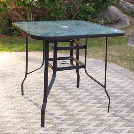 Coral Coast Wimberley 42 in. Square Balcony Height Outdoor Dining Table ()