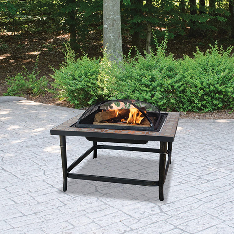 Blue Rhino Outdoor Fireplace