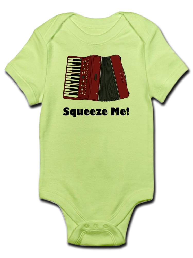 4e626863b CafePress - CafePress - Accordion Squeeze Box Infant Bodysuit - Baby Light  Bodysuit - Walmart.com