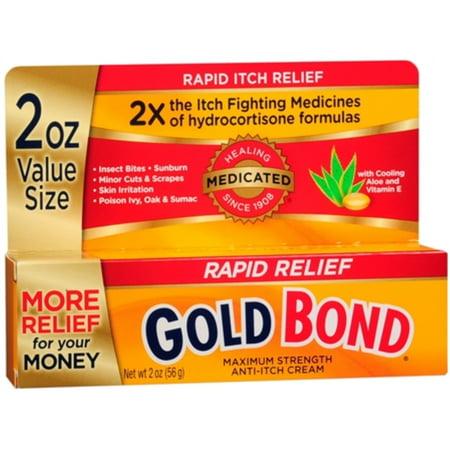 Medicated Anti Itch Cream (3 Pack - Gold Bond Medicated Anti-Itch Cream Maximum Strength 2)