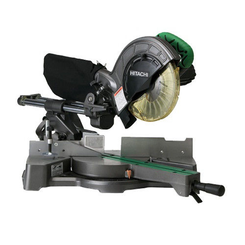 Hitachi C8FSE 8-1 2 in. Sliding Compound Miter Saw by Hitachi