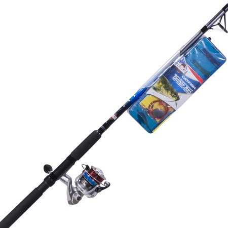 Zebco ready tackle catfish 7 medium heavy spinning combo for Best walmart fishing combo