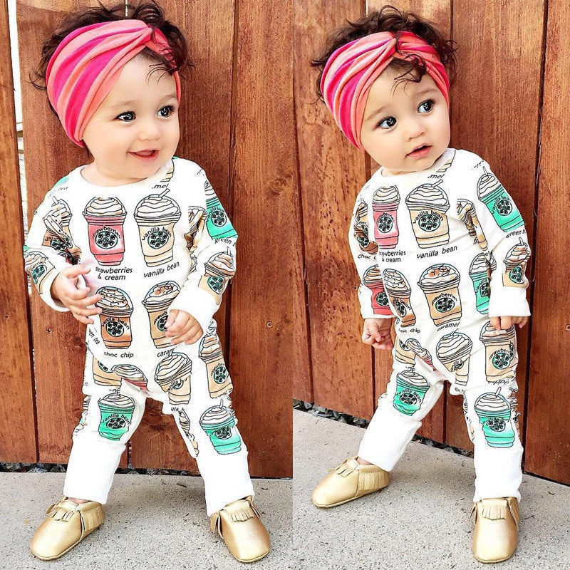 Newborn Kids Baby Boy Girl Infant Romper Jumpsuit Bodysuit Clothes Outfit Set