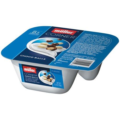Muller Corner Choco Balls Lowfat Yogurt, 5.3 oz - Walmart.com