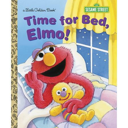 Time Hardback - Time for Bed, Elmo! (Hardcover)