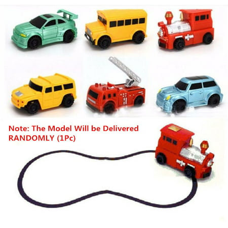 1PC Magic Pen Inductive Car children's Train Tank Toy Car Draw Lines with Marker Pen Kids Best