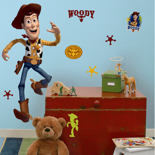 Toy Story - Woody Peel and Stick Giant Wall Decals