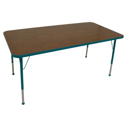 Mahar Creative Colors Rectangle Classroom Table