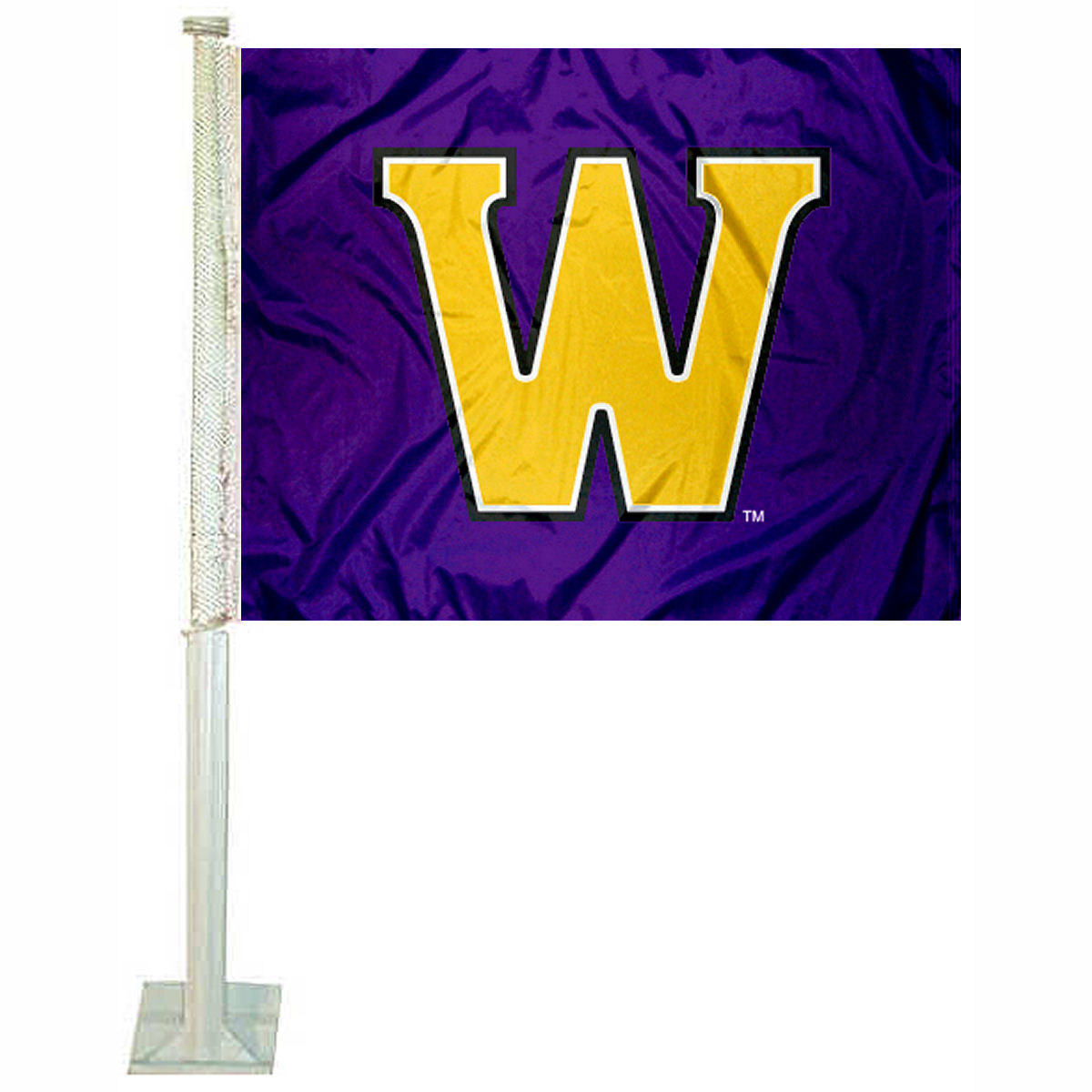 "Williams College 12"" x 15"" Car Flag"