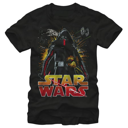 Star Wars The Force Awakens Men's Classic Kylo Ren T-Shirt