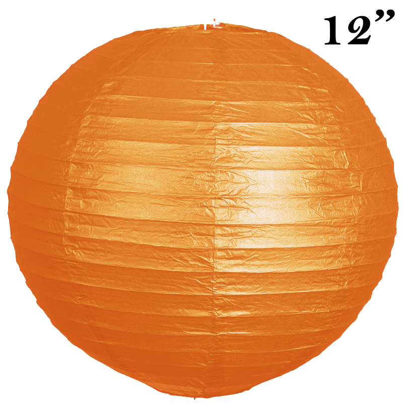 "BalsaCircle 12 pack 12"" Paper Lanterns Lamp Shades Party Supplies - Party Wedding Event Home Room Decorations Supplies"