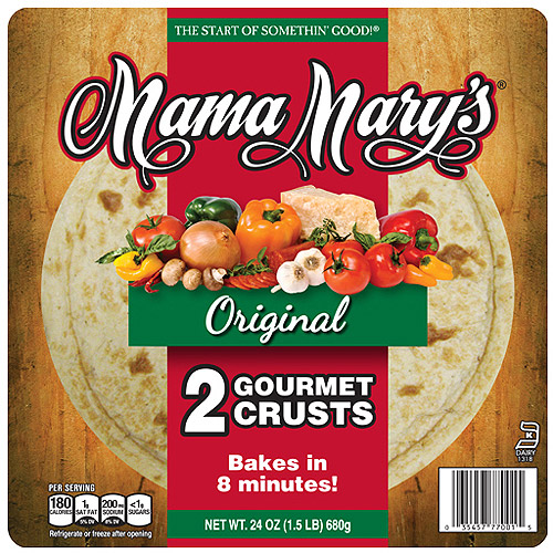 Mama Mary's Gourmet Pizza Crusts, 24 Oz
