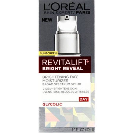 Loreal Paris Revitalift Bright Reveal Day Moisturizer With Spf 30