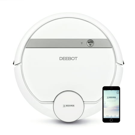 ECOVACS DEEBOT 900 Wi-Fi Connected Robotic Vacuum