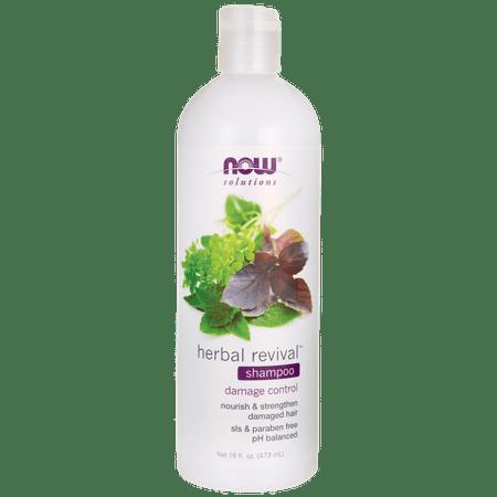 NOW Foods Natural Herbal Revival Shampoo 16 fl oz Liquid (Hair Now)
