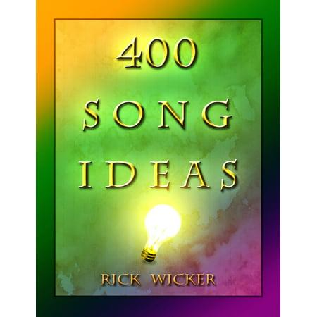 400 Song Ideas - eBook - Halloween Wedding Song Ideas