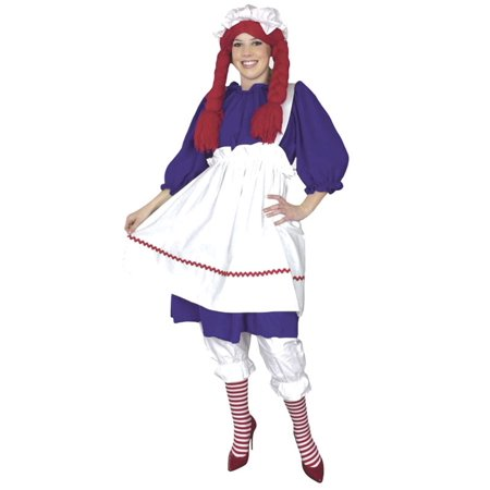 Plus Size Rag Doll Costume](Quest Halloween Rag)