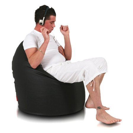 Turbo Beanbags Mega Sack Large Bean Bag Chair