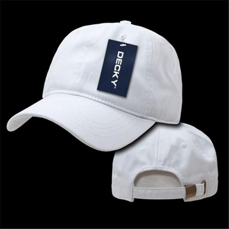 Decky - Decky 958-WHITE Two Ply Polo Caps  44  White - Walmart.com 0aac563dcc4a