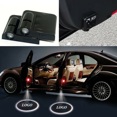 2PCS Wireless LED Car Door Welcome Logo Light Ghost Shadow Laser Lights Courtesy Projector for BUICK