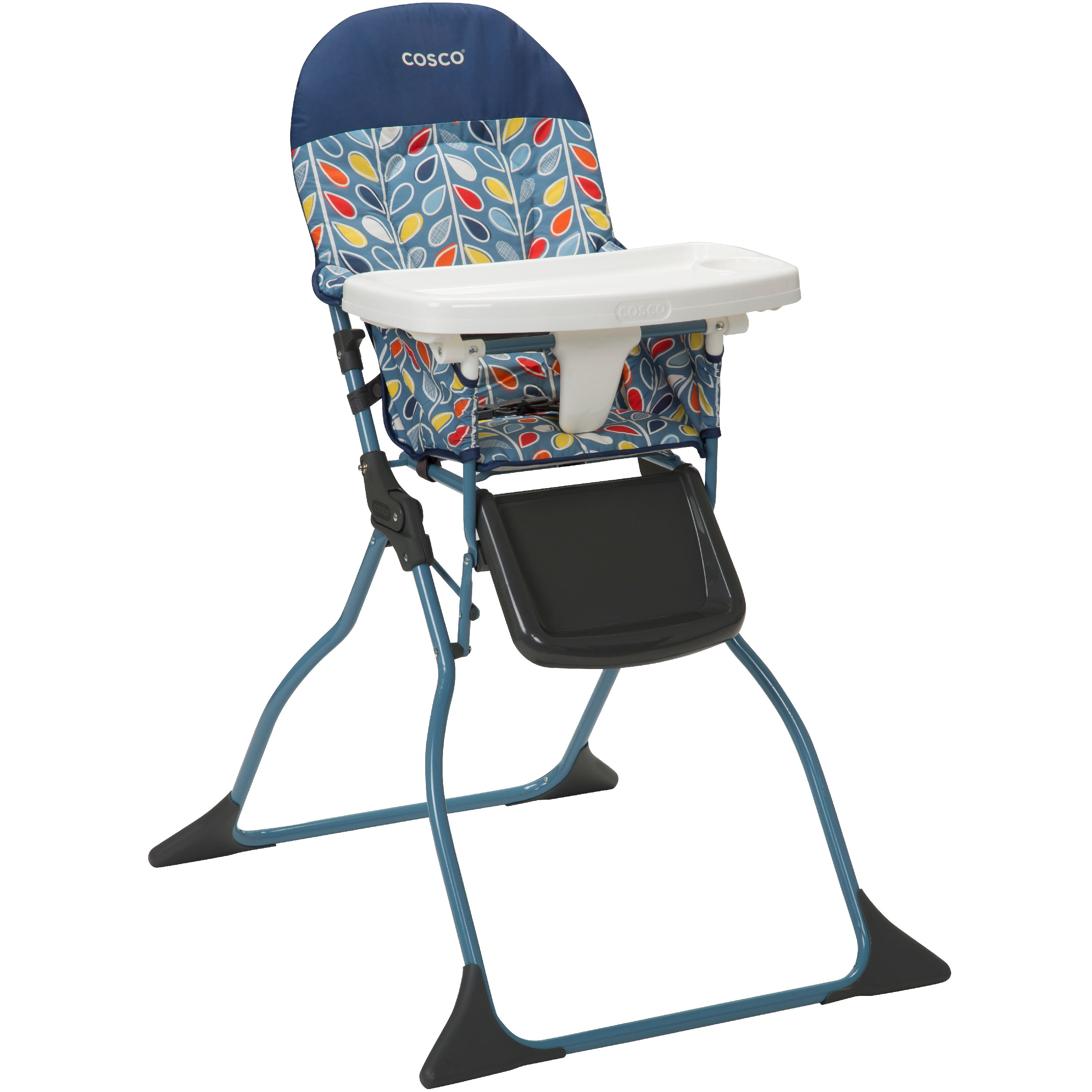 Cosco Simple Fold™ Full Size High Chair with Adjustable Tray, Leafy