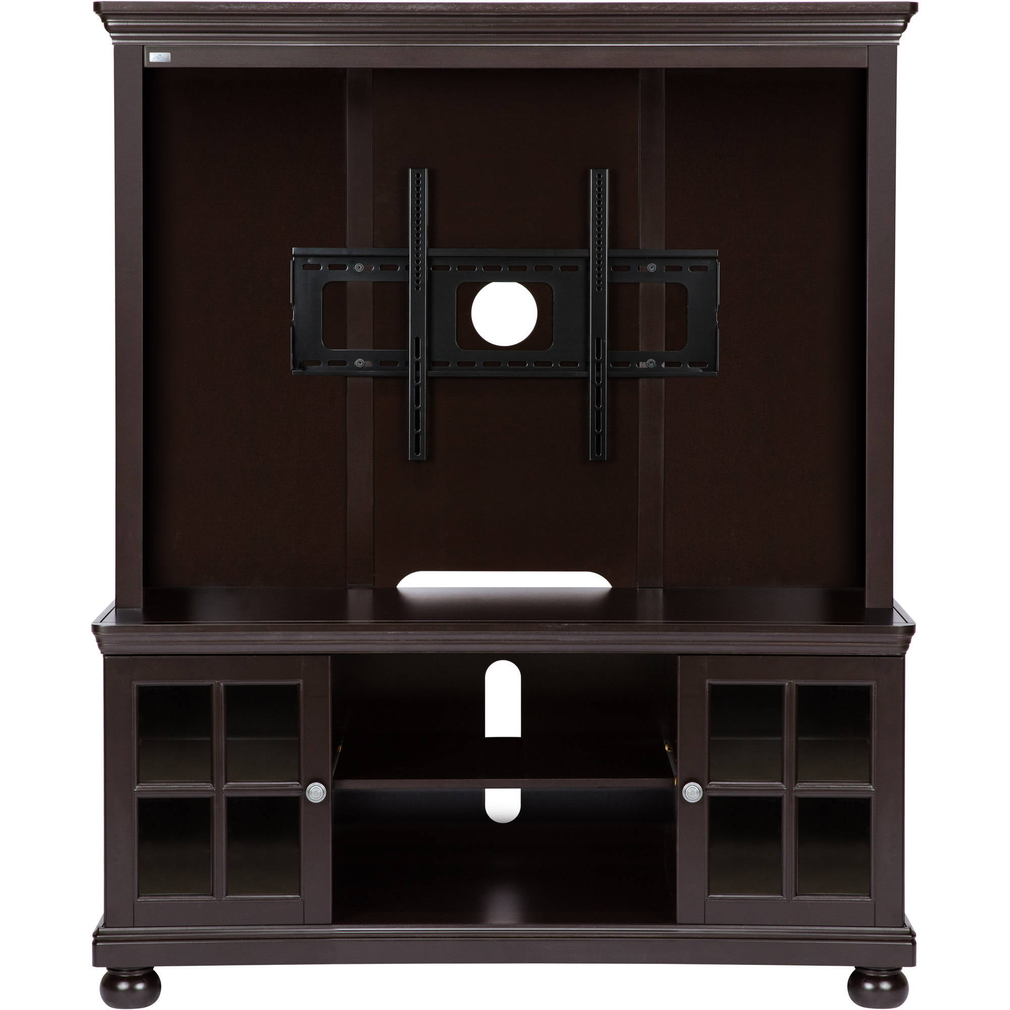 Better Homes And Gardens Espresso Tv Stand With Hutch For Tvs Up To 50 Ebay