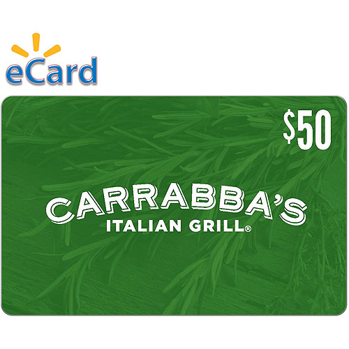 Carrabbas Italian Grill $50 (Email Delivery)