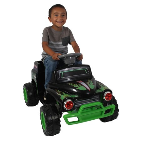 Monster Jam Grave Digger 6-Volt Battery Powered Ride-On (Grave Digger Party Supplies)