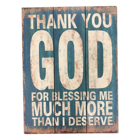 Postive And Encouraging Sign With Thank You God For Blessing Me
